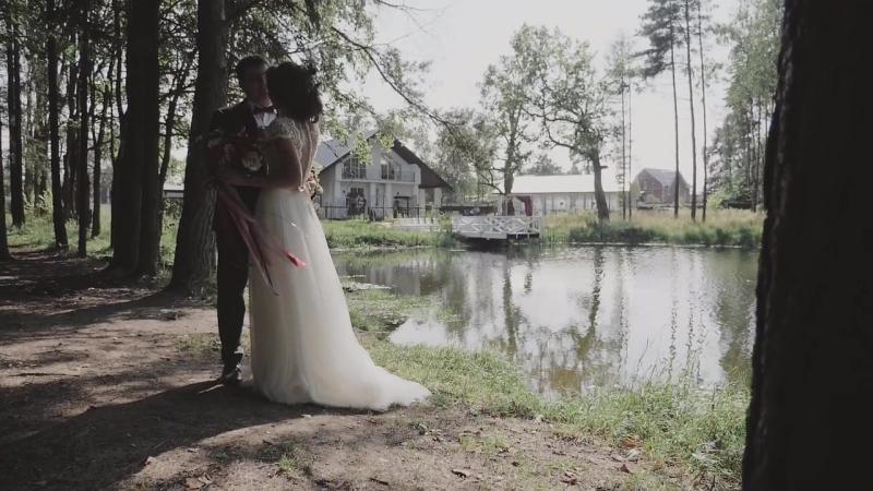 Свадьба Подмосковье. Выездная регистрация у воды. Анна и Александр. Дом у озера