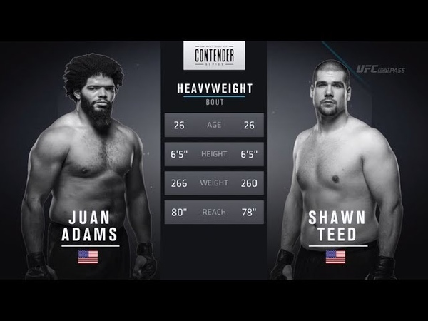FREE FIGHT Adams Pushes Pace in Dominant Victory DWTNCS Week 7 Contract Winner Season 2
