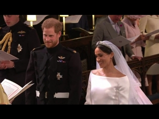 Its all smiles as Prince Harry lifts Meghan Markles veil - - Watch RoyalWedding live on @ITV