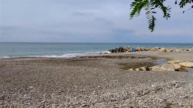 Головинка, пляж. Октябрь 2016 года.