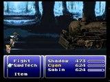 Final Fantasy VI - Sabin Suplexes a Train to Death
