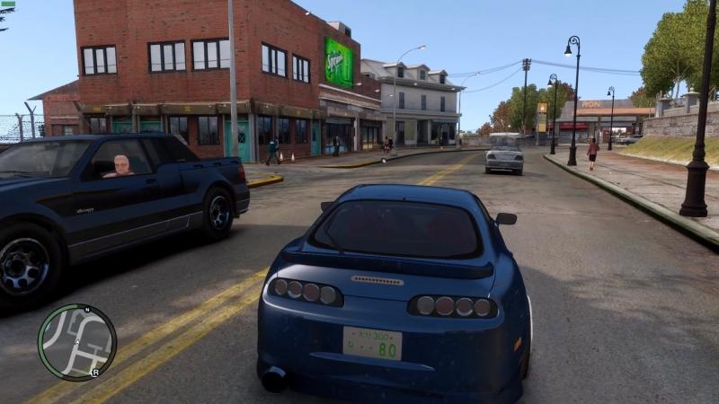 Grand Theft Auto 4 Simple Enb