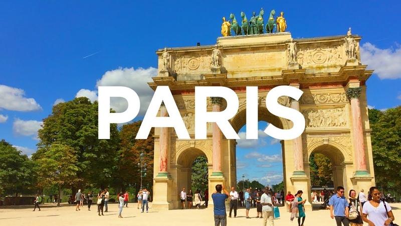 PARIS WALK | Tuileries Garden incl. Arc de Triomphe du Carrousel | France