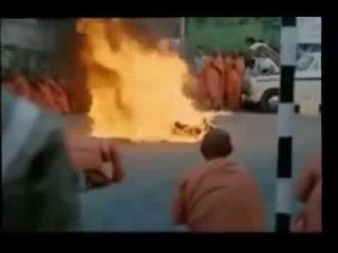 Self immolation in Saigon 1963