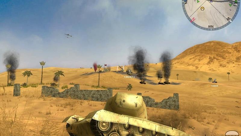 Panzer Elite Action - Dunes of War - Дюны в Огне. Multiplayer (Сетевая игра). Хроника боёв. 4