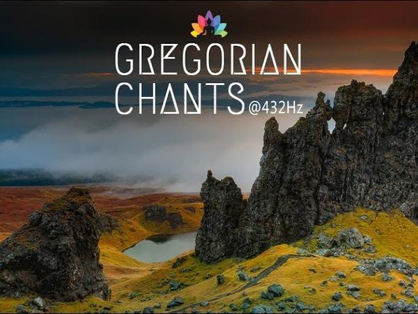 Gregorian Chants at 432Hz   3 Hours of Healing Music