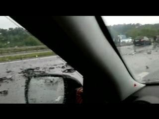 На трассе Белгород - Томаровка произошла страшная авария. 3-ое погибших