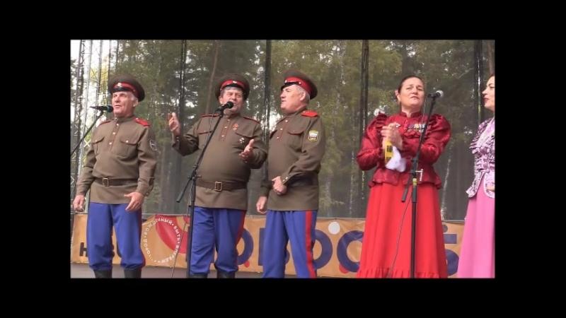 Новосибирск 2018.Сосновый бор.Фестиваль Казачья станица