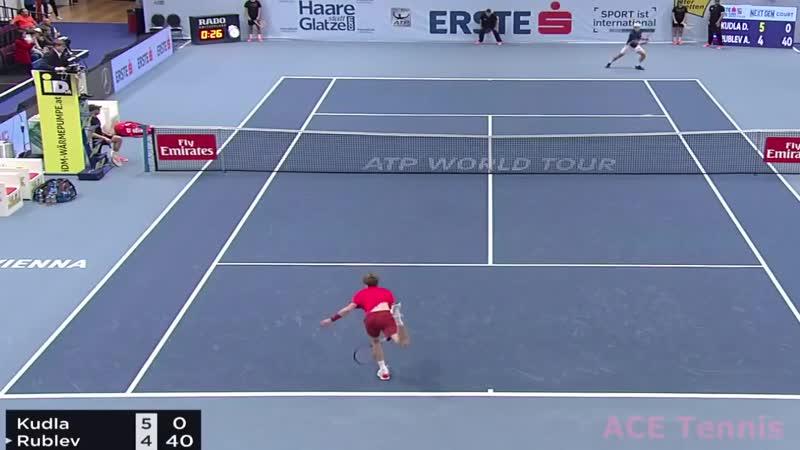 Andrey Rublev - Denis Kudla - Highlights VIENNA 2018