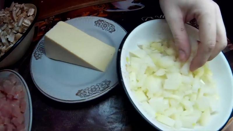 [В гостях у ЖАННЫ] Жульен.Классический Рецепт.Julienne Recipe. » Freewka.com - Смотреть онлайн в хорощем качестве