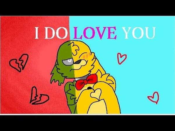 MEME I do love you Спрингбонни и Спрингтрап