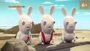 Бешеные кролики Вторжение Rabbids Invasion Русский трейлер 2013