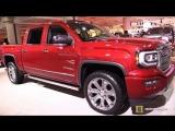 2018 GMC Sierra Denali - Exterior and Interior Walkaround - 2018 New York Auto Show