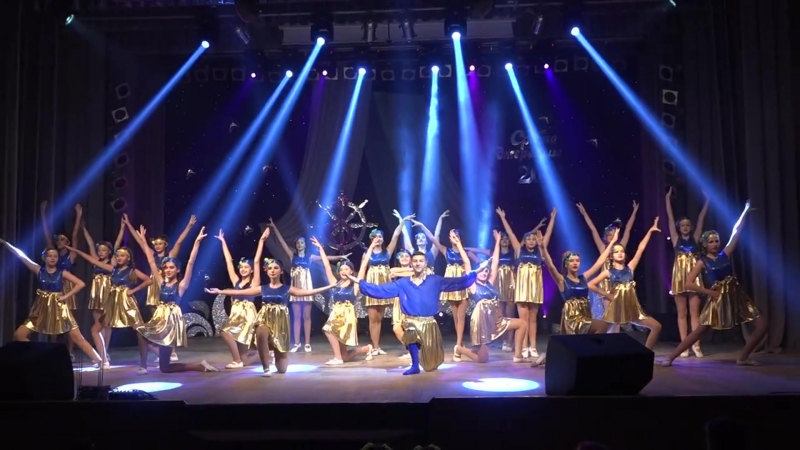Grand Dance в конкурсе (Срібне джерельце) Танец ,,Ты Беги