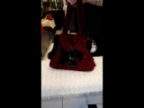 Сумка-переноска Скотч красная/торговая марка