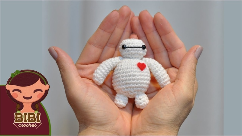 Amigurumi | Como hacer a Big Hero - Bay Max en crochet | Bibi Crochet