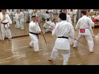 Kyokushinkan Oshiro no Kon Kumi bo Kata