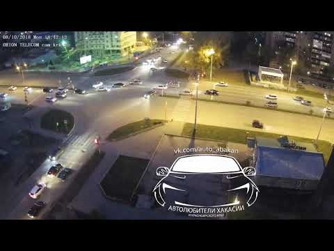 ДТП Абакан, Некрасова - Чертыгашева