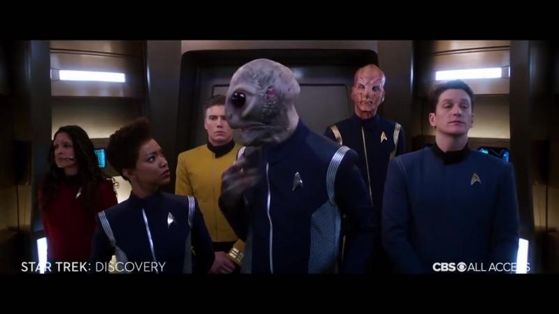 Трейлер 2-го сезона сериала Звездный путь: Дискавери / Star Trek: Discovery (Comic-Con 2018)