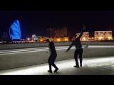 НОВАЯ ЧЕЧЕНСКАЯ ЛЕЗГИНКА БАРКАЛЛА В БАКУ 2017 ALISHKA RAMIL LEZGINKA (HEYDER ALI.mp4