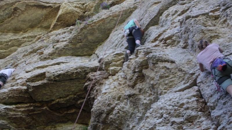 Воргольские скалы Скалодром Работница