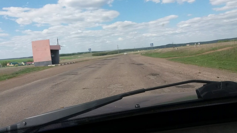 Эх дороги, дороги участок Приютово Белебей 20170520 162550