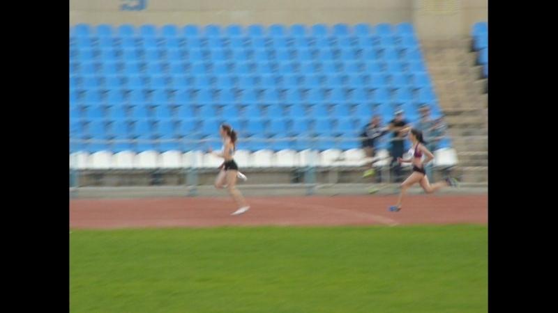 3 забег-дев. 12.1-100 м. Маша Разымова