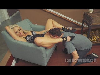 Holly Hearts Femaleworship.com May I Please Have Your Ass 2015 [ CLASSIC PORNO ]