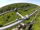 Опасная работа электрика, 765 000 Вольт ЛЭП Установка вкладышей с вертолета