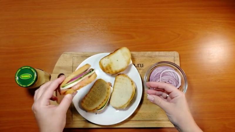 Оригинальные бутерброды на завтрак