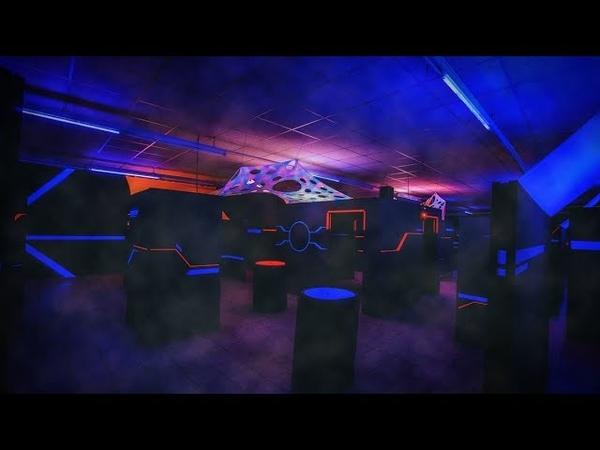 Lasertag 2 На игре. Фрагмент детского мероприятия.mp4