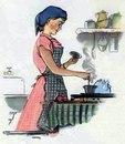 На Востоке женщины занимаются домом и семьей,но не работают.