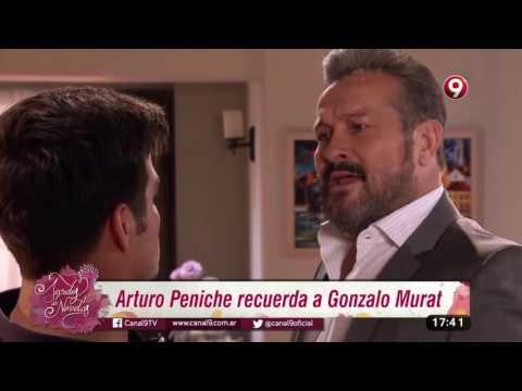 Arturo Peniche recuerda a Gonzalo Murat