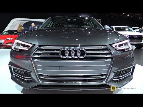 2018 Audi A4 2.0T Quattro - Exterior and Interior Walkaround - 2018 Detroit Auto Show