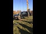 Молодечно. Porsche Cayenne улетел в овраг. 13.10.2018 Часть 2