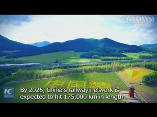Новая ВСЖД запущена в самом холодном районе Китая!