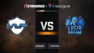 MVP PK vs Lucid Dream, map 3 mirage, StarSeries & i-League Season 6 Asia Qualifier