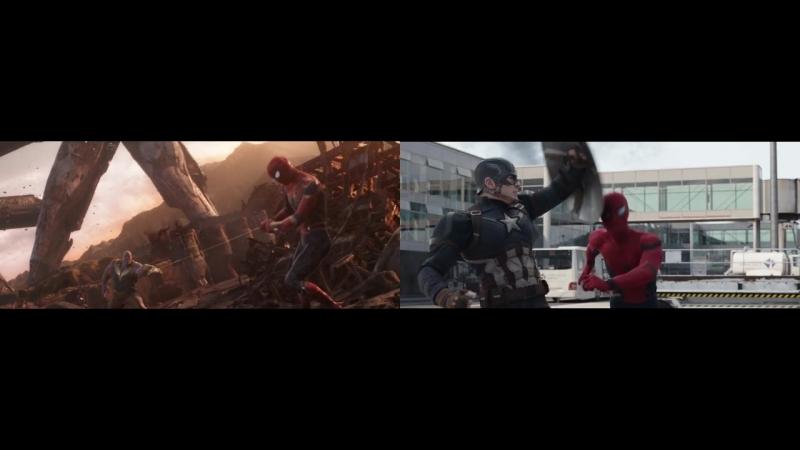 Мстители: Война Бесконечности | Несмышлённый Паучок