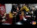 Группа ДаарИка с живым концертом в студии