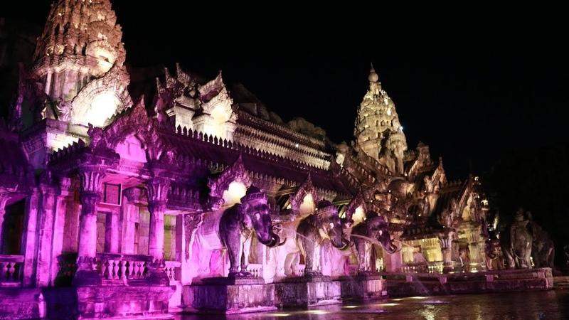 Wonderful Thailand Захватывающее шоу Фантазия на Пхукете. Phuket Fantasea Show
