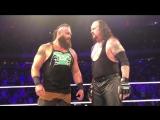 WBSOFG Braun Strowman,Roman Reigns and The Undertaker WWE MSG 2018