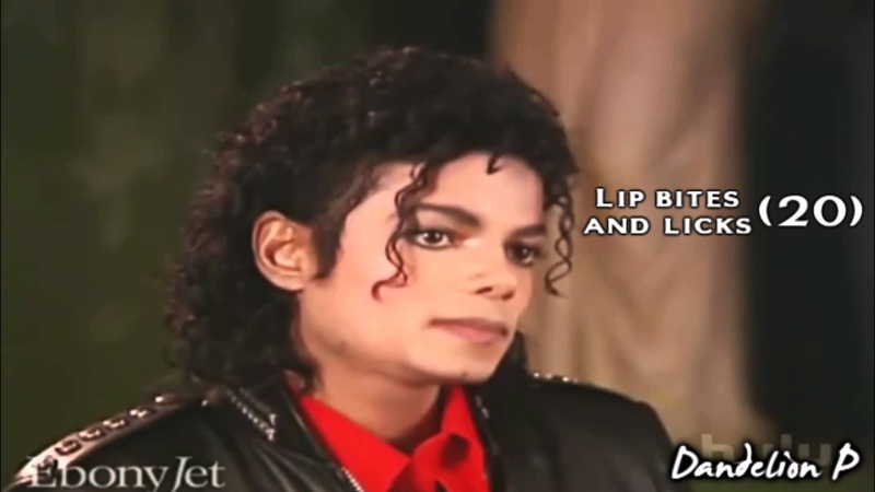 Michael Jackson - Counting Lip Bites And Licks (Interview)