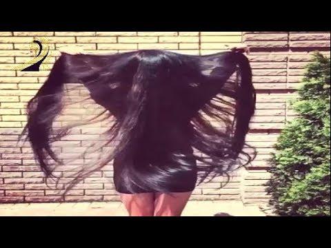 Beautiful Rapunzel Divya Sensual Hair Play hair Silk