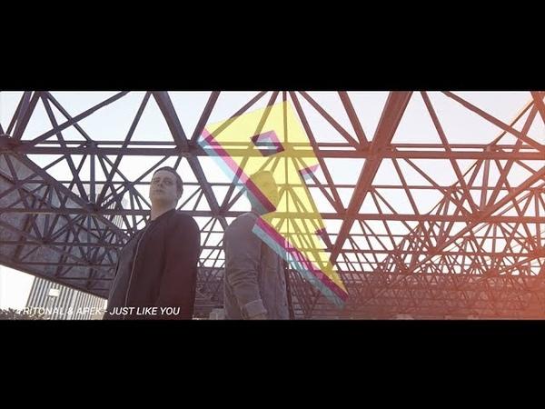 Tritonal APEK ft Meron Ryan Just Like You Lyric Video