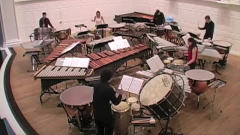 Xenakis: Peaux — Yale Percussion Group