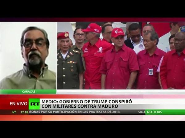 The New York Times: EE.UU. se reunió con militares venezolanos para planear golpe contra Maduro