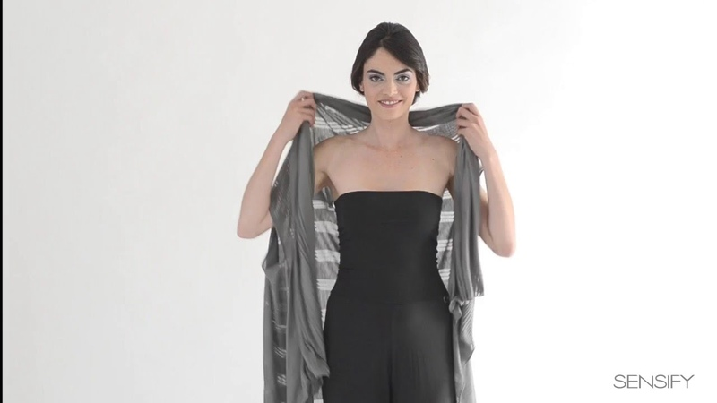 The Sensify Wrap - How to Wear Multi-functional Clothing