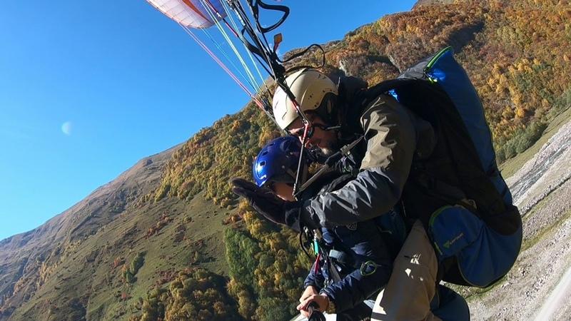 14102018 gudauri paragliding полет гудаури بالمظلات، جورجيا بالمظلات gudauriparagliding com 2