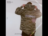 INFLATION Oversized Camouflage Hooded Zip Cardigan Casual Long Jacket MenWomen Streetwear Brand Clothing Men's Outwear 8760W