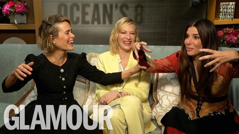 Sarah Paulson Shows Off Her Hilarious Sandra Bullock Impression | GLAMOUR UK